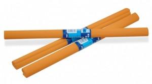 Krepový papír 50 x 200 cm Artpap světle oranžový 5