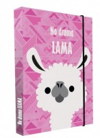 Heft box A4 - Jumbo - Karton P + P - Lama - 5-72919