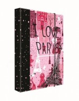 Heft box A4 - Jumbo - Karton P + P - Romantic Nature Paris - 5-71519