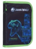 Školní penál 1 patrový - 2 chlopně - Jurassic World - bez náplně - Karton P+P - 1-54619