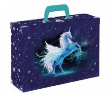 Kufřík lamino hranatý, okovaný - Karton P+P - Unicorn 1 - 5-66918