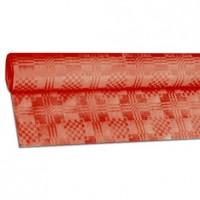 Papírový ubrus rolovaný 8 x 1,20 m červený