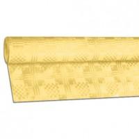 Papírový ubrus rolovaný 8 x 1,20 m žlutý