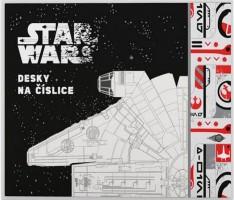 Desky na číslice - Star Wars - Karton P+P - 1-16619