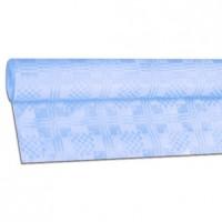 Papírový ubrus rolovaný 8 x 1,20 m světle modrý