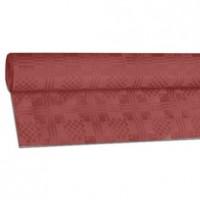 Papírový ubrus rolovaný 8 x 1,20 m bordový