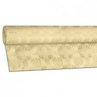 Papírový ubrus rolovaný 8 x 1,20 m béžový