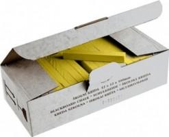 Křída školní žlutá 100 ks 112501