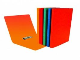 Pořadač  A4 - s rychlosvorkou, Prešpan - oranžový