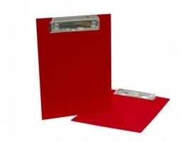 Jednodeska A5 lamino - červená