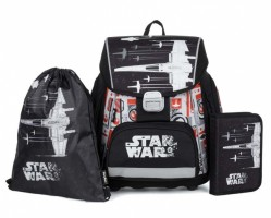 Školní 3 dílný set - Karton P+P - Premium  Star Wars  0-91019