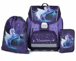 Školní 3 dílný set - Karton P+P - Premium Unicorn- 0-20718