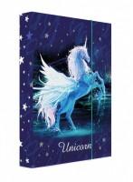 Heft box A4 - Jumbo - Karton P + P - Unicorn 1 - 5-72218