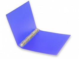 Pořadač A5 -  4 kroužky, Opaline - modrá