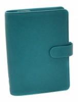 Diář Filofax Saffiano - osobní - akvamarín - 022530