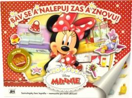 Samolepkové album - Bav se a nalepuj zas a znovu - Minnie - 8431101