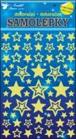 Samolepky svítící ve tmě - Hvězdy - 10102