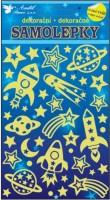 Samolepky svítící ve tmě - Vesmír - 10105