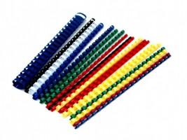 Hřbet pro kroužkovou vazbu 10 mm - žlutý