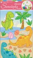 Dekorační samolepka na zeď - Dinosauři - 10125