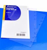 Náplň Filofax - Personal - Transparentní list s výřezem - 133613