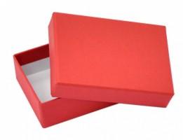 Dárková krabička B1 - červená - 10 x 7 x 3 cm
