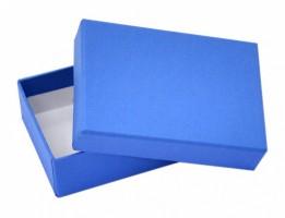 Dárková krabička B1 - modrá - 10 x 7 x 3 cm