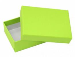 Dárková krabička B1 - zelená - 10 x 7 x 3 cm