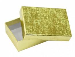 Dárková krabička B1 Lux - zlatá - 10 x 7 x 3 cm