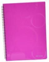 Kroužkový blok A4 lamino - Neo Colori - růžová - 7- 399