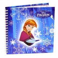 Kroužkový blok čtvercový  Frozen 2015 -7-562