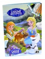 Omalovánky A5+ Frozen - Ledové království - 0883-3