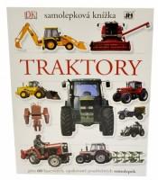 Samolepková knížka - Traktory - 1804-6