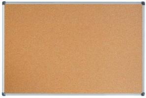Korková tabule 60 x 90 cm - hliníkový rám