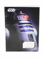 Školní sešit A5 - Star Wars - R2-D2 - čtvereček - A-3536