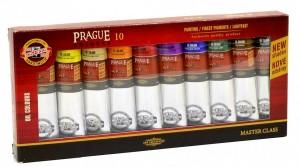 Souprava olejových barev Prague 10 x 40 ml - 01617S1001 - Koh-i-noor