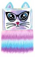 Plyšový deník - Duhová kočka - 0778-2
