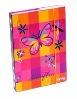 Heft box A5 - Karton P+P - Motýl - 5-69018