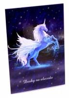 Desky na abecedu - Karton P+P - Unicorn - 1-17218