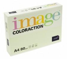 Kancelářský papír Image Coloraction A4 - 80g/m2, světle zelená - 500 archů