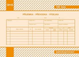 Příjemka převodka výdejka A5 propisující Optys 1087