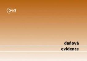 Daňová evidence s klopou A4 Optys 1001