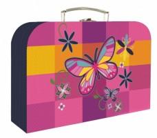 Kufřík lamino 34 cm - Karton P+P - Motýl - 3-64718