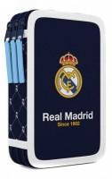 Školní penál - Karton P+ P - Real Madrid - 3 patra - bez náplně - 7-91918