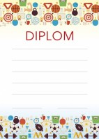 Diplom A5 - sportovní hry - BD059