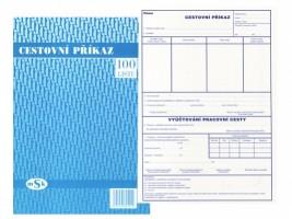 Cestovní příkaz A4 mSk 501