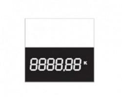 Digitální cenovka malá 60 x 60 mm - mSk 1160