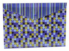Plastový obal A4 s drukem - Happy Blue -1650-0231-2
