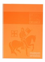 Staufen blok premium A4 - linkovaný, 80l - oranžový - T45137241