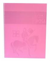 Staufen blok premium A4 - čtverečkovaný, 80l - růžový - T45138221